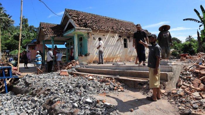 BPBD Lumajang Sampaikan Data ke Pemprov Jatim, Ada 2526 Rumah Rusak Akibat Gempa