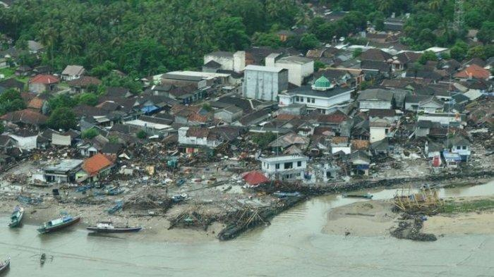 Kesaksian Warga Korban Tsunami Banten, Lihat Tingkah Aneh Buaya di Pantai 30 Menit Sebelum Tsunami
