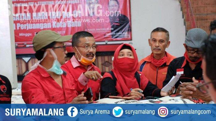 Sejumlah Partai Politik di Kota Batu Bergerak Bantu Warga saat Wabah Virus Corona