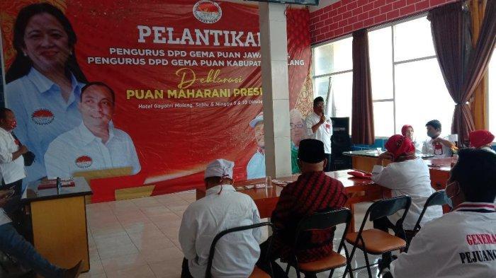 Gelar Acara Pelantikan DPD Gema Puan Jatim, Siap Dukung Puan Maharani Maju sebagai Capres 2024