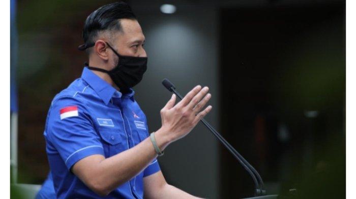 Ketua Umum Partai Demokrat Agus Harimukti Yudhoyono