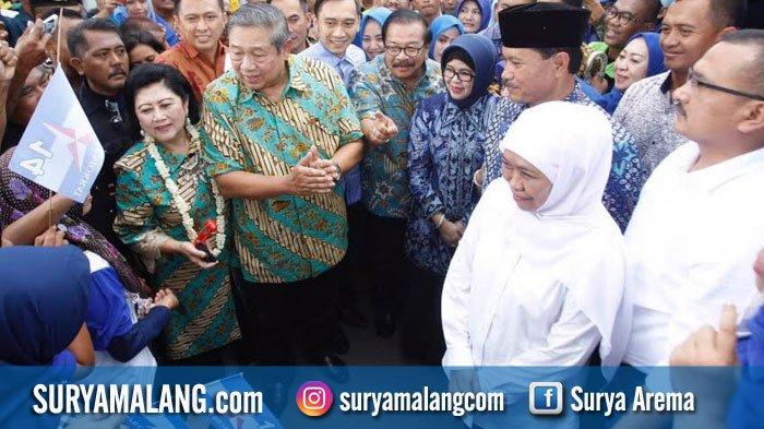 SBY ke Mataraman Kampanyekan Khofifah - Emil