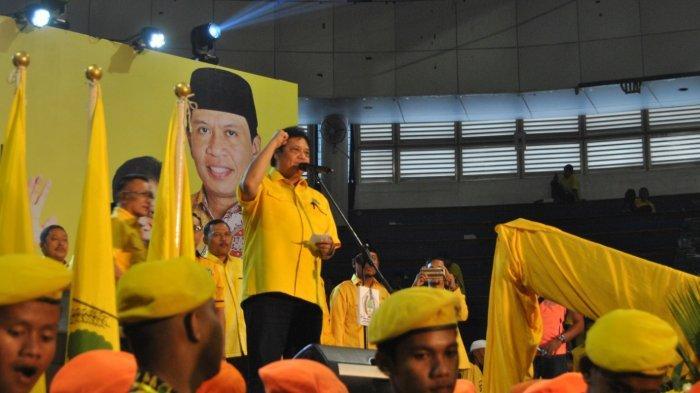 Airlangga Hartarto Jelaskan Alasan Memilih Jokowi Di Hadapan Simpatisan Golkar Kota Surabaya