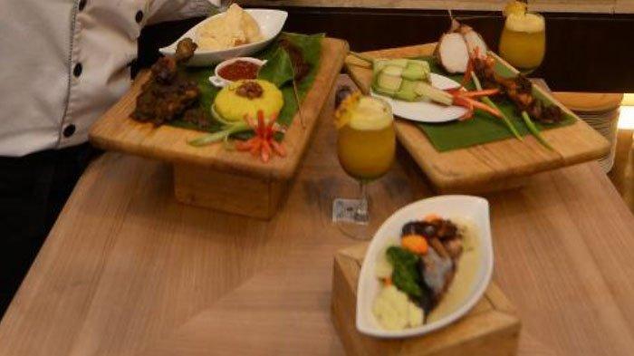 Hidangan Olahan Kurma di Hotel Santika Pandegiling Surabaya, Ada Ketupat Opor dan Ayam Lengkuas