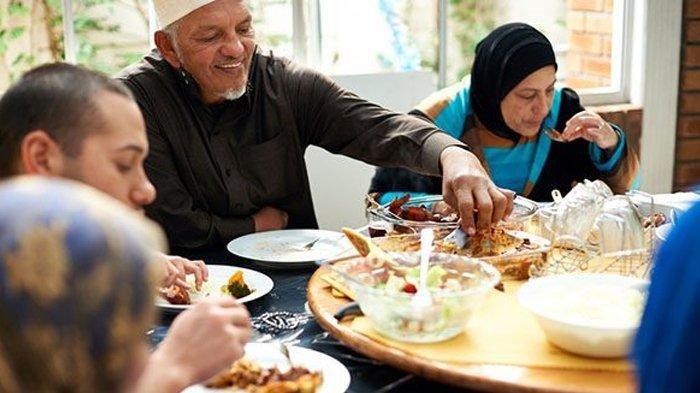 Ilustrasi buka puasa Ramadan