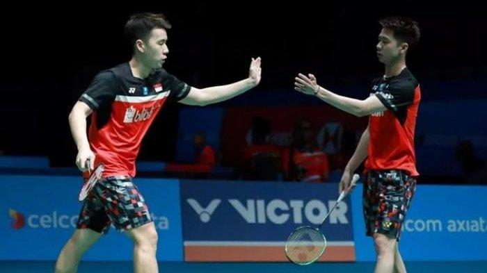 Jadwal & Jam Tayang Badminton Asia Championship (Kejuaraan Asia) 2019, Marcus Kevin Lolos Final