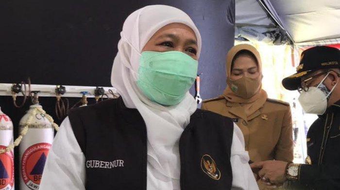 600 Ribu Dosis Vaksin Covid-19 Tiba di Jatim, Gubernur Khofifah Prioritaskan untuk Vaksinasi Pelajar
