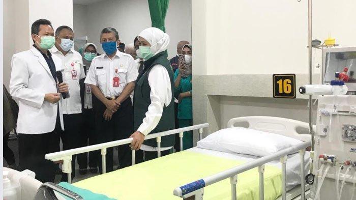 Gubernur Khofifah Resmikan Unit Hemodialisa RS Saiful Anwar (RSSA) Kota Malang