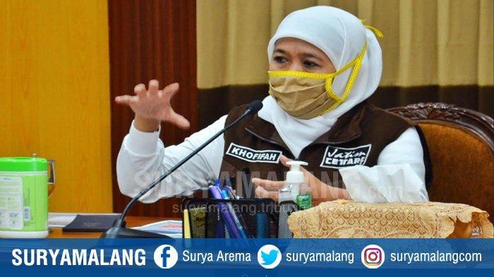 Jumlah Pasien Covid-19 yang Sembuh di Jawa Timur Hari Ini Tembus 1091 Orang, Khofifah: Luar Biasa!