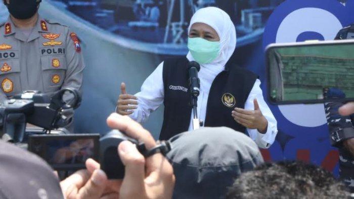 Gubernur Khofifah Sebut 6 Daerah di Jatim Jadi PPKM Lv 1, Kab Malang dan Batu Lv 2, Kota Malang Lv 3