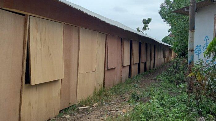 Akan Direvitalisasi, Kios Penampungan Sementara Pedagang Pasar Lesanpuro Malang Selesai Dibangun