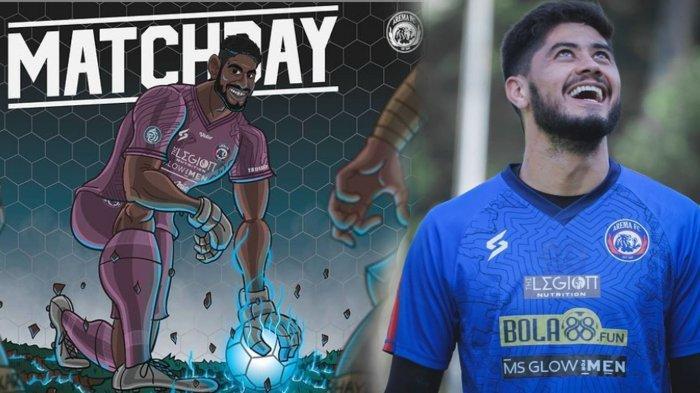 Kiper Asing Arema FC Favorit Tapi Gagal Clean Sheet,  Adilson Maringa Tetap Puas : Kami Tidak Kalah