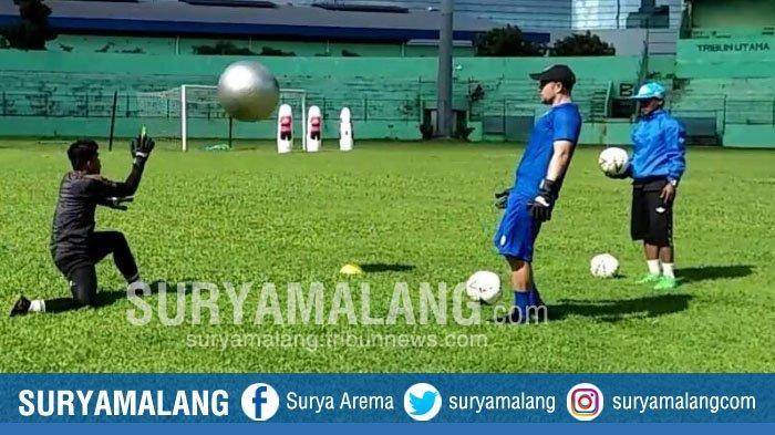 Belum Ada Keputusan, Kiper Arema FC Sudah Mulai Berlatih, Felipe Americo Ungkap Antusias Penggawa