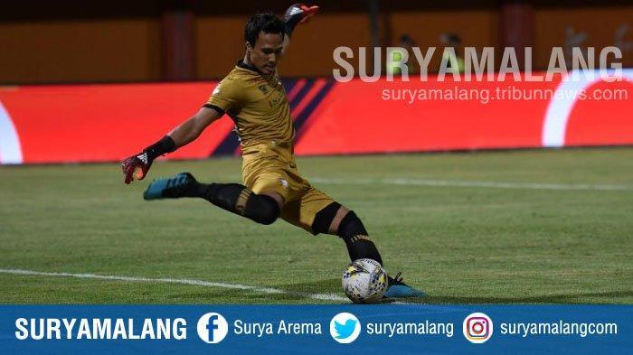 Kiper Madura United M Ridho Harap Kompetisi Bergulir Akhir Agustus 2021