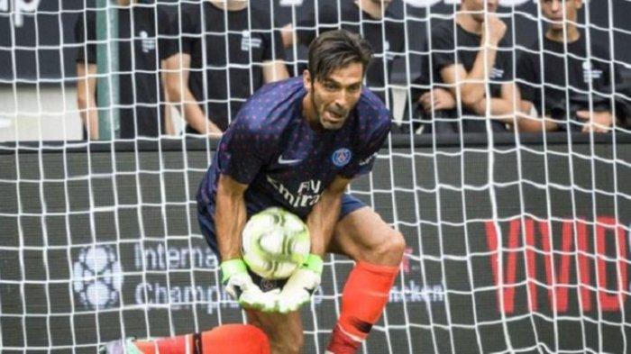 Debut Buffon Bersama Paris Saint-Germain Tidak Mulus, Gawang Dibobol Tiga Kali