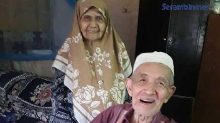 Bak Cinta Sejati, Kisah Pasutri Ini Viral, 15 Jam Usai Istri Meninggal, Suami Nenek Zainun Menyusul