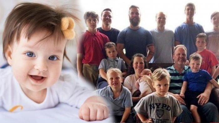 Kisah Perjuangan Pasutri Demi Punya Anak Cewek, Tunggu Selama 28 Tahun & Sudah Miliki 14 Orang Putra