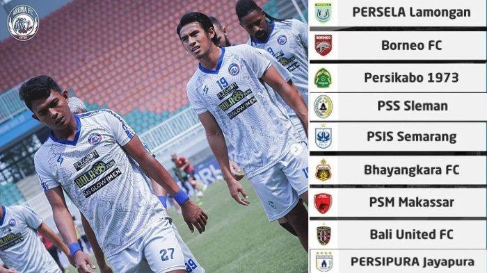 Klasemen dan Jadwal Arema FC Pekan Ini, Posisi Singo Edan di Atas PSS Sleman, Calon Lawannya