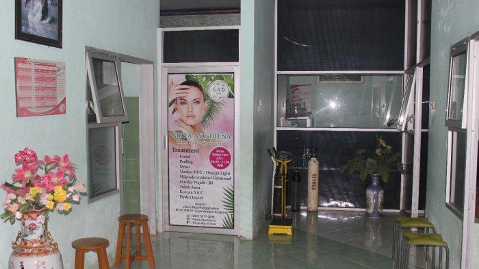 Klinik Bunga Husada Kalipare Kabupaten Malang, tempat kerja Eva Sofiana Wijayanti.
