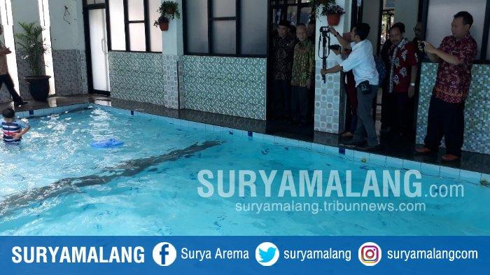 Ada Kolam Renang Syar'i di SD Islam Muhammad Hatta, Kota Malang