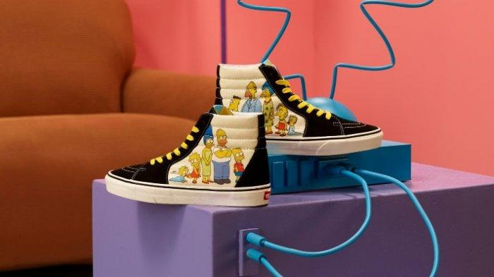 Vans dan The Simpsons Kolaborasi Bikin Sepatu Anak Eksklusif, Modelnya Unik dan Jumlahnya Terbatas