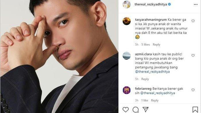 Komentar netizen meminta Rezky Aditya klarifikasi
