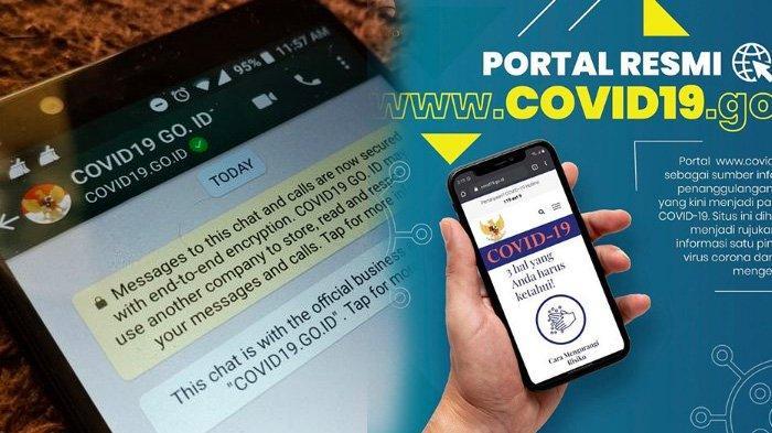 Nomor Whatsapp (WA) Kominfo Untuk Akses Info Covid-19 atau Corona, Bisa Chat Langsung