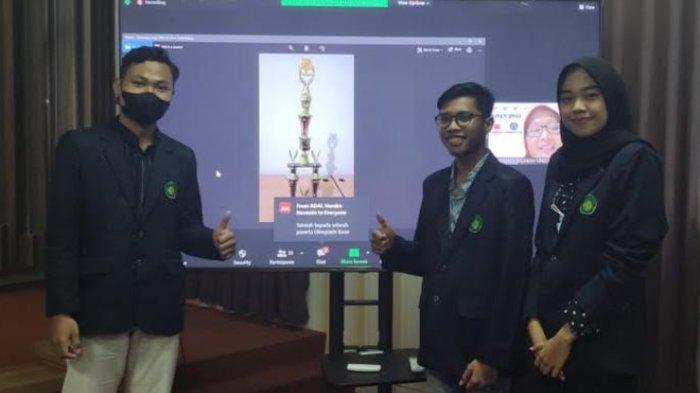 Tim Mahasiswa Akuntansi UIN Maliki Malang Raih Juara 1 di KOAN 2021 yang Digelar ADAI Riau