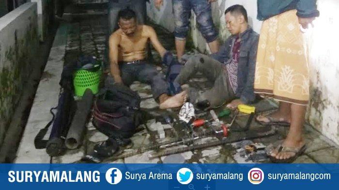 Warga Kedungkandang & Kabupaten Malang Bobol Toko Emas di Jember, Tercatat Sebagai Residivis