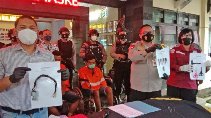 Komplotan Curanmor Mobil Pikap Ditembak, 2 Kali Beraksi di Sukun Malang