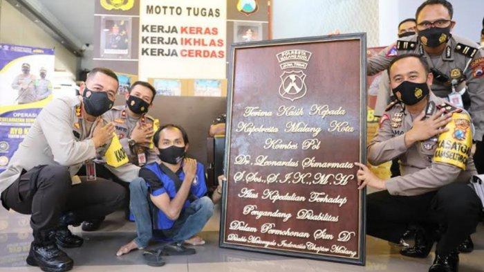 Komunitas DMI Kunjungi Polresta Malang Kota, Beri Apresiasi Program Sama Rasa