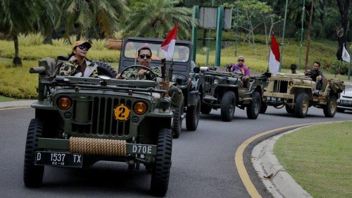 Komunitas Jeep Willys Keliling Malang, Blitar hingga Surabaya