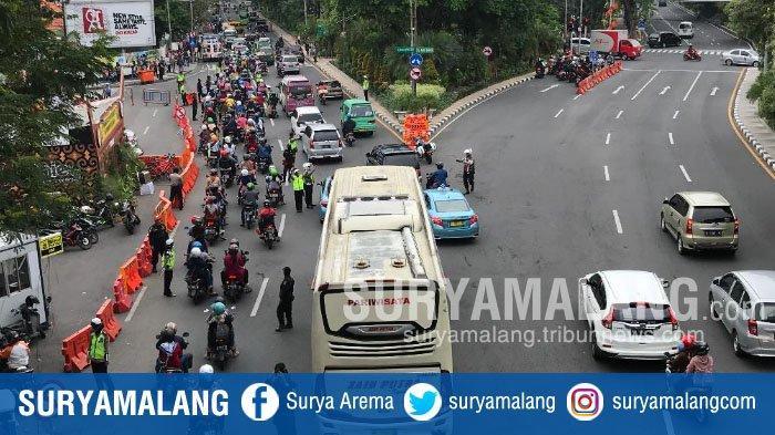Kondisi Lalu Lintas Surabaya pada Hari Pertama Tahun 2020