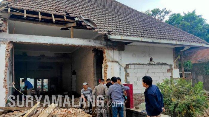 Satpol PP Pertanyakan Izin Renovasi Bekas Rumah Keluarga Bung Tomo di Jalan Ijen, Kota Malang
