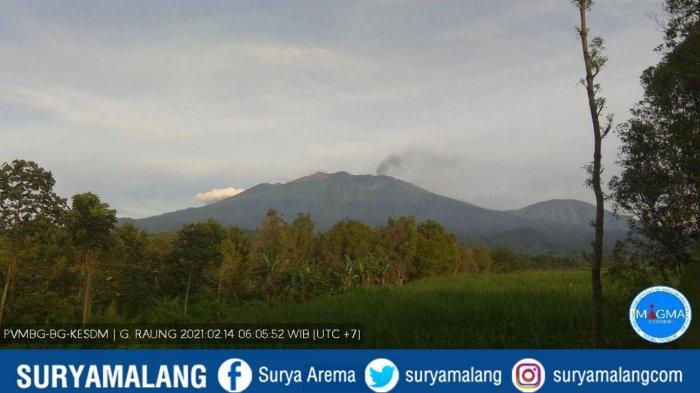 Update Erupsi Gunung Raung Hari Ini, Aktivitas Berangsur Mulai Menurun, Abu Vulkanik Hanya Sesekali