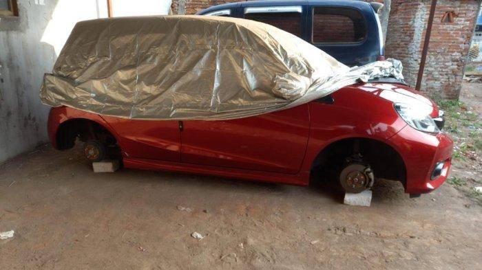 Pencurian Ban Mobil Terjadi di Kota Malang, Pelaku Sasar Honda Brio RS