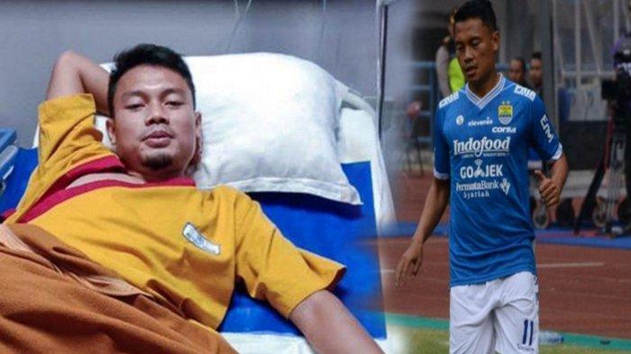 Kondisi Terbaru Pemain Persib Bandung Dedi Kusnandar di RS, Sempat Kesakitan Kepala di Lapangan