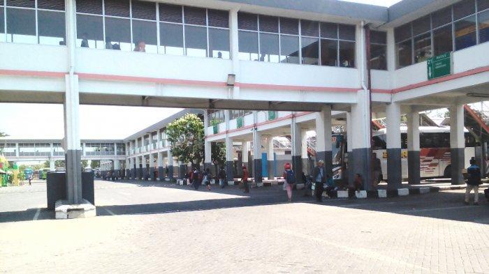 H-7 Lebaran, Penumpang Di Terminal Purabaya Sidoarjo Belum Ada Peningkatan
