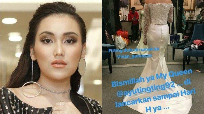 Konsep Gaun Pernikahan Ayu Ting Ting & Adit Jayusman Sudah Siap, Dibongkar Sendiri Oleh Abdul Rozak
