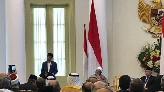Jokowi Buka Konferensi Ratusan Ulama dan Cendekiawan di Bogor, Begini Pesannya