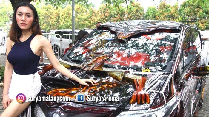 GALERI FOTO - Mobil-mobil Modifikasi di Area Kampus Universitas Negeri Malang