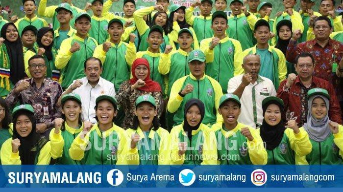 Jatim Target Juara Umum Pekan Olahraga Pelajar Nasional (POPNAS) di Jakarta