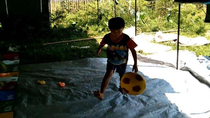Korban Gempa di Malang Masih Bertahan di Tenda Pengungsian Desa Majang Tengah