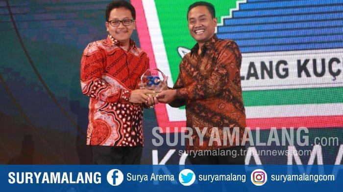 Kota Malang Raih Penghargaan Industri Kreatif Berbasis Digital dari Harian Surya