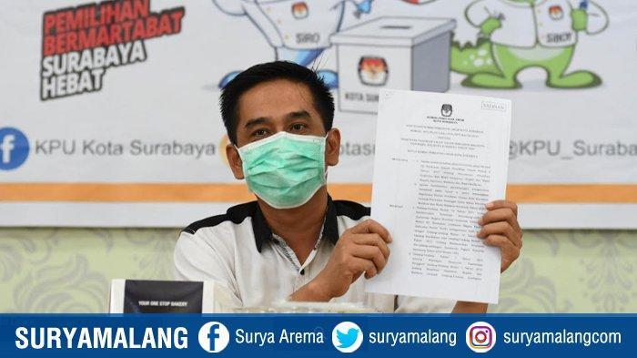 Video : KPU Surabaya Tetapkan Eri Cahyadi-Armuji & Machfud Arifin-Mujiaman Peserta Pilwali 2020