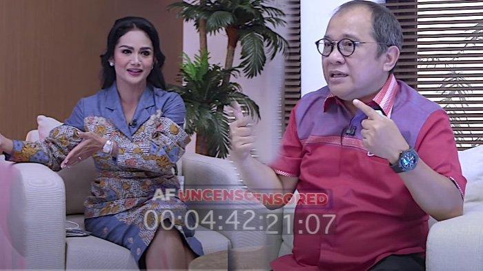 Krisdayanti ngobrol dengan Akbar Faizal Senin 13 September 2021