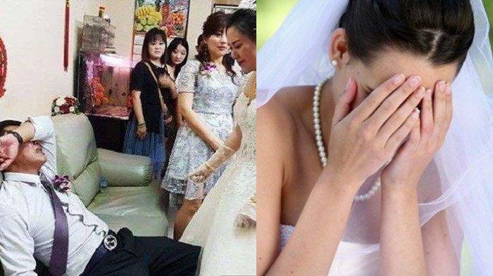 Kronologi Wanita Kondangan Lihat Mempelai Pria Ternyata Suaminya Sendiri, Sang Istri Sedang Hamil