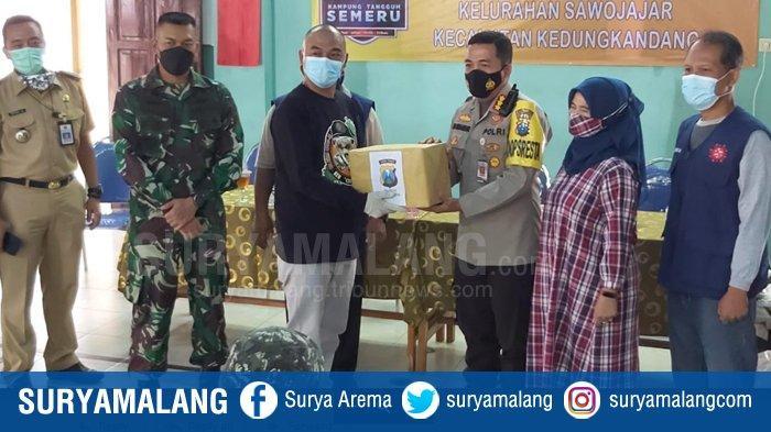 Kapolresta Malang Kota Ingatkan Masyarakat Untuk Patuh Aturan PPKM, Dukung KTS Sawojajar