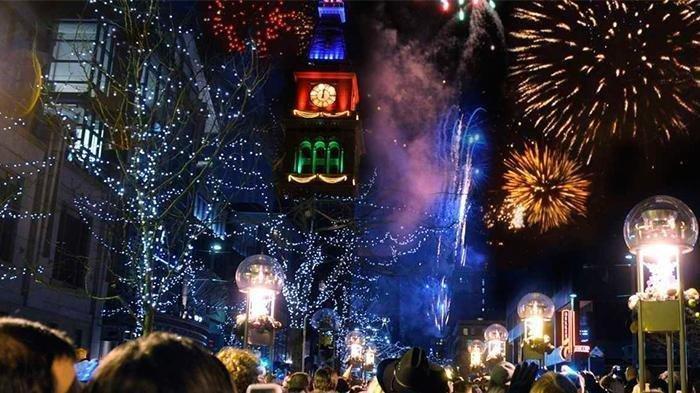 ILUSTRASI - Malam tahun baru dan kumpulan ucapan Selamat Tahun Baru 2021