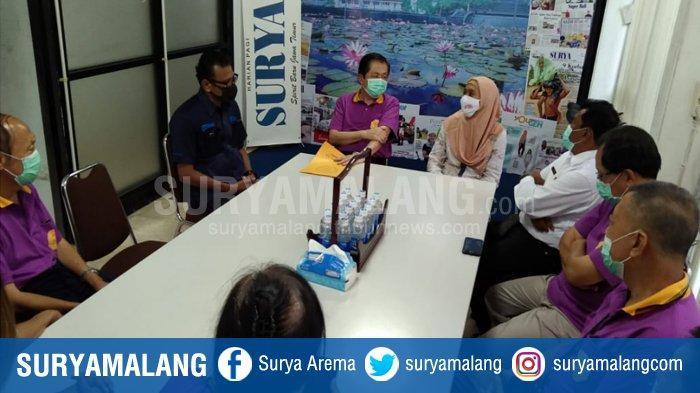Yayasan Klenteng Eng An Kiong Kunjungi Kantor Harian SURYA Malang, Mempererat Silaturahmi & Sinergi